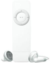 iPod Shuffle是長條型的