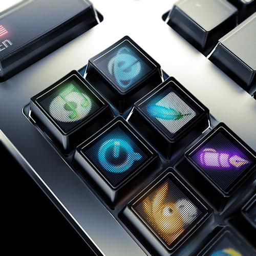 Optimus keyboard的功能鍵